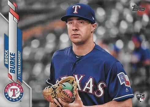 2020 Topps Series 2 Baseball Variations Brock Burke