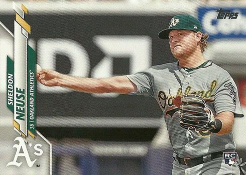 2020 Topps Series 2 Baseball Variations Sheldon Neuse