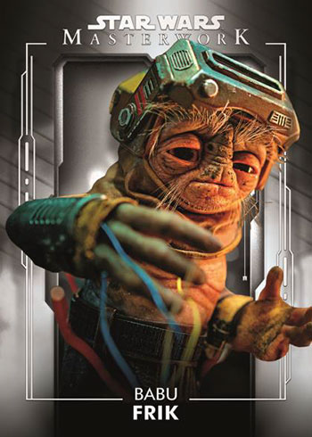 2020 Topps Star Wars Masterwork Babu Frik