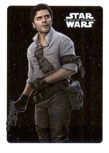 2020 Topps Star Wars Rise of Skywalker Series 2 Character Posters Poe Dameron