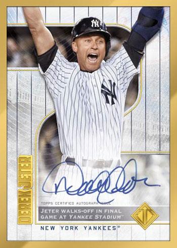 2020 Topps Transcendent Captain's Collection Baseball Captain's Career Autograph