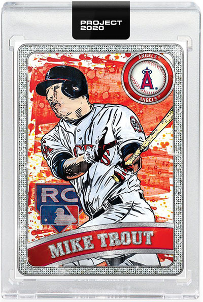 Topps Project 2020 100 Mike Trout by Blake Jamieson and Ben Baller