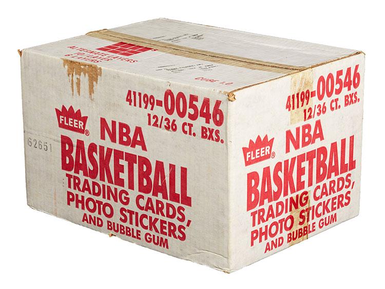 1986-87 Fleer Basketball Sealed Case