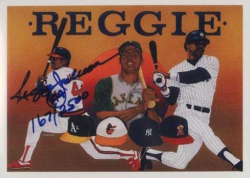 1990 Upper Deck Reggie Jackson Autograph