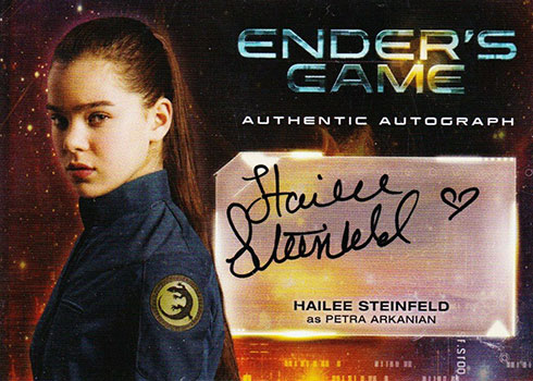 2014 Cryptozoic Ender's Game Hailee Steinfeld Autograph
