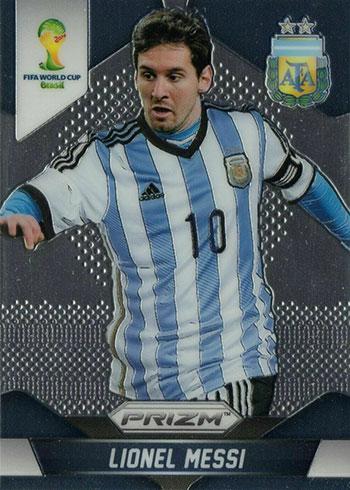 2014 Panini Prizm World Cup Soccer Lionel Messi