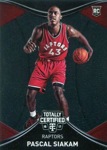 2016-17 Totally Certified Pascal Siakam Rookie Card