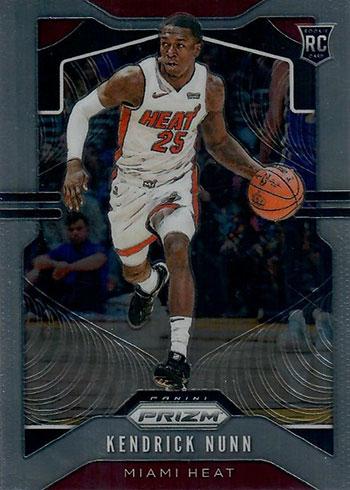 2019-20 Panini Chronicles Basketball 501 Kendrick Nunn Prizm Update
