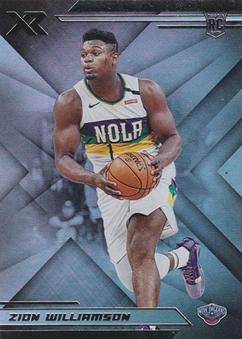 2019-20 Panini Chronicles Basketball Zion Williamson XR