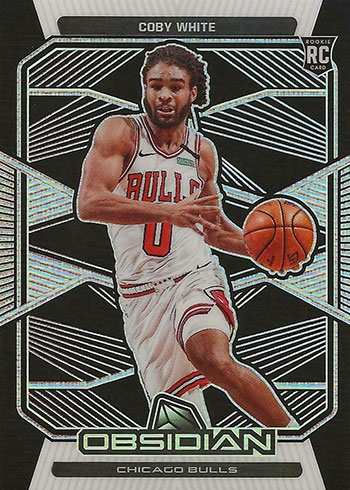 2019-20 Panini Obsidian Basketball Coby White RC