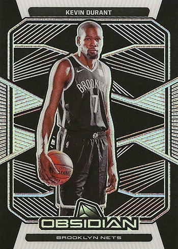 2019-20 Panini Obsidian Basketball Kevin Durant