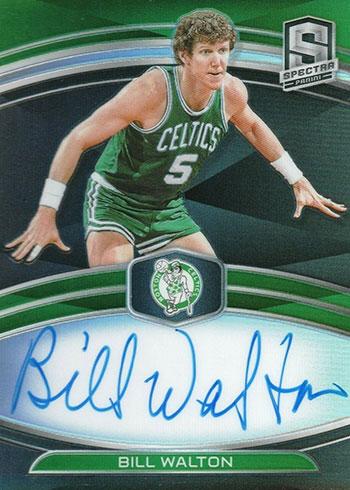 2019-20 Panini Spectra Basketball NBA Champions Signatures Bill Walton