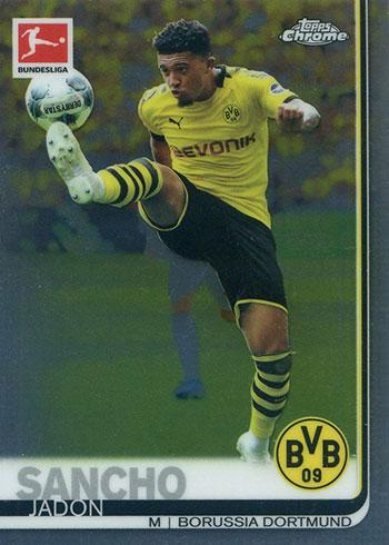 2019-20 Topps Chrome Bundesliga Soccer Jadon Sancho