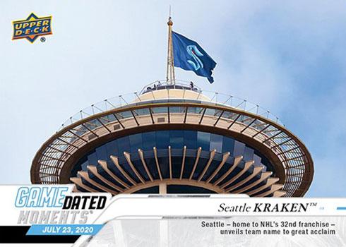 Seattle Kraken Get Their First Official Hockey Card From Upper Deck