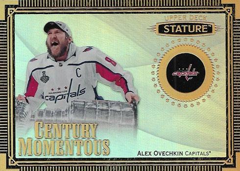 2019-20 Upper Deck Stature Hockey Century Momentous Alex Ovechkin