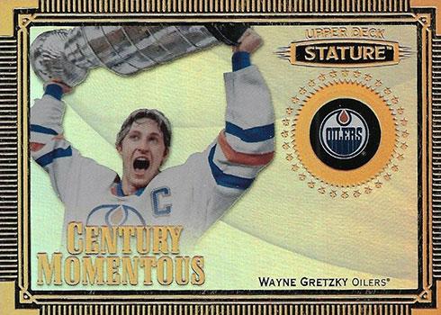 2019-20 Upper Deck Stature Hockey Century Momentous Wayne Gretzky