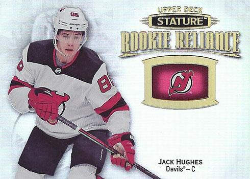 2019-20 Upper Deck Stature Hockey Rookie Reliance Jack Hughes
