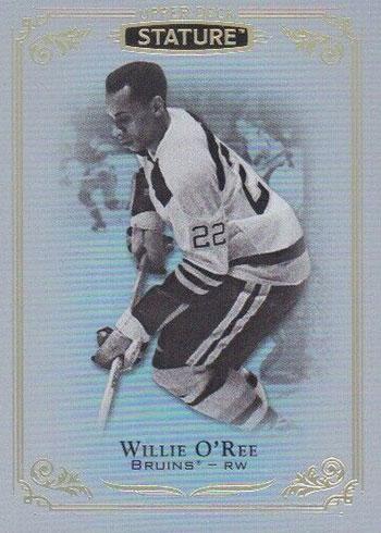 2019-20 Upper Deck Stature Hockey Willie O'Ree