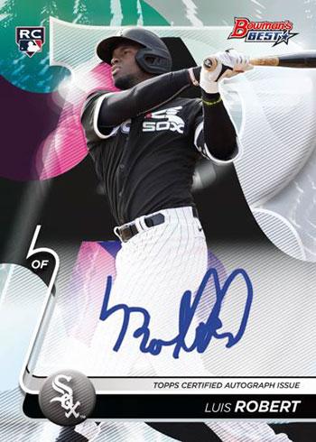 2020 Bowman's Best Baseball Best of 2020 Autographs