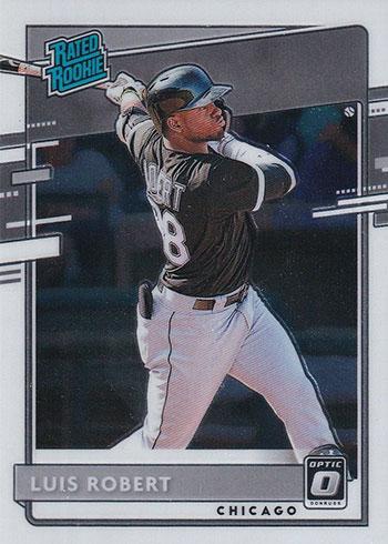 2020 Donruss Optic Baseball Luis Robert Rookie Card