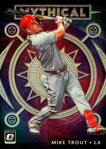 2020 Donruss Optic Baseball Mythical Holo Mike Trout