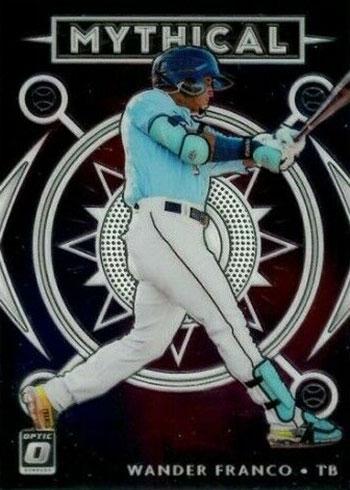2020 Donruss Optic Baseball Mythical Wander Franco