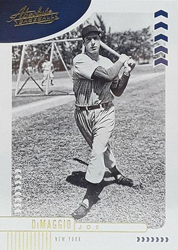 2020 Panini Absolute Baseball Joe DiMaggio