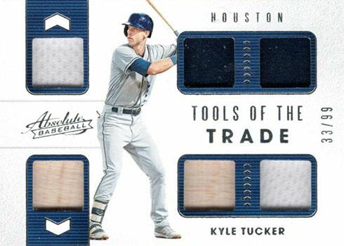 2020 Panini Absolute Baseball Tools of the Trade 6 Kyle Tucker