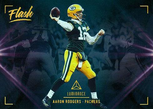 2020 Panini Luminance Football Flash Aaron Rodgers