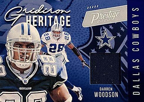 2020 Panini Prestige Football Gridiron Heritage Darren Woodson