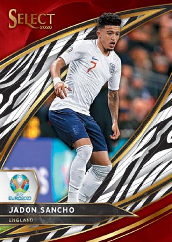 2020 Select UEFA Euro Soccer Field Level Zebra