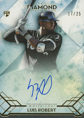2020 Topps Diamond Icons Luis Robert Rookie Card
