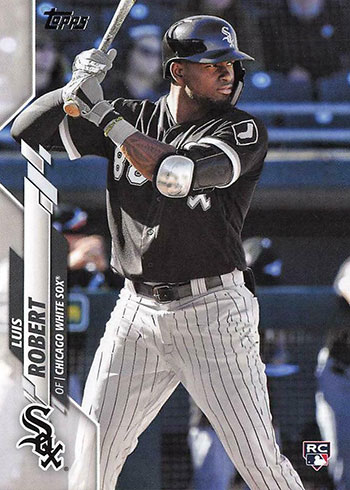 2020 Topps Luis Robert Rookie Card