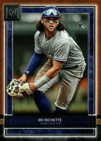 2020 Topps Museum Collection Baseball Bo Bichette Rookie Card