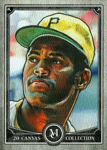 2020 Topps Museum Collection Baseball Canvas Collection Reprints Roberto Clemente