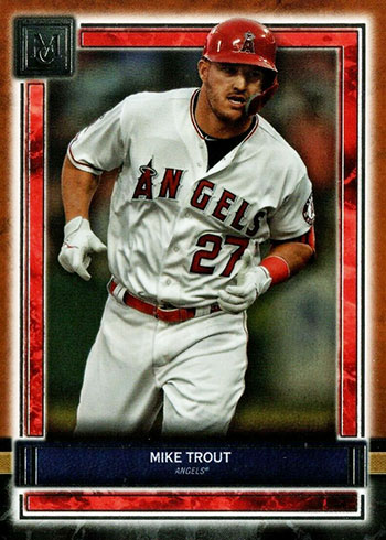 2020 Topps Museum Collection Baseball Mike Trout