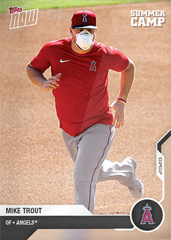 2020 Topps Now Road to Opening Day: Summer Camp Edition Mike Trout
