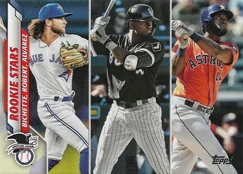 2020 Topps Series 2 Baseball Variations Bichette Robert Alvarez SSSP