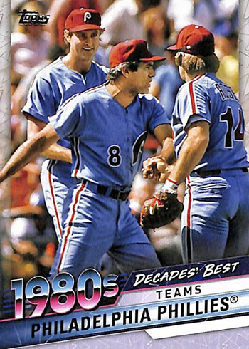 2020 Topps Series 2 Baseball Decades' Best Philadelphia Phillies Pete Rose