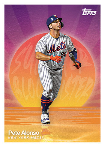 2020 Topps Summer Blockbuster Baseball Pete Alonso