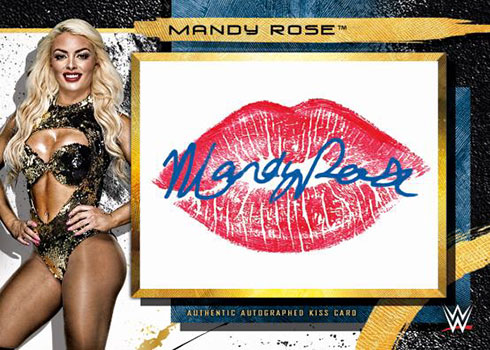 2020 Topps WWE Fully Loaded Autographed Kiss Relics