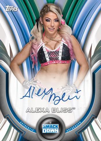 2020 Topps WWE Women's Division Alexa Bliss Autograph