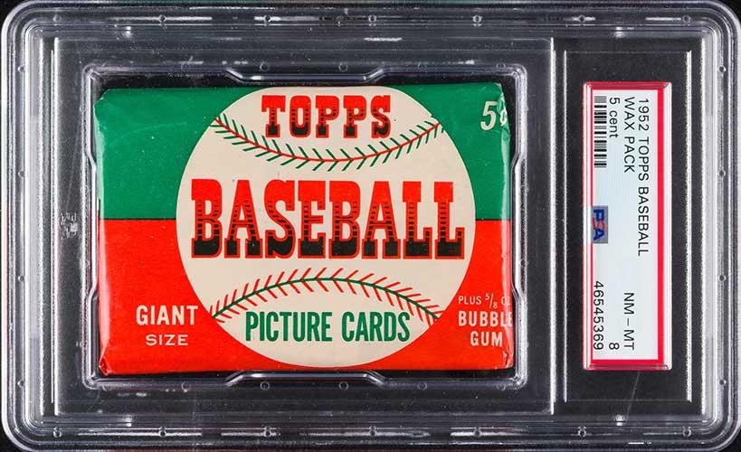 1952 Topps Baseball Pack 5-Cent