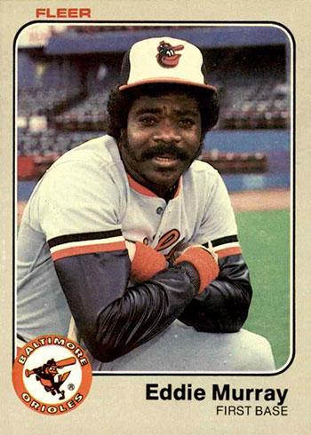 1983 Fleer Baseball Eddie Murray