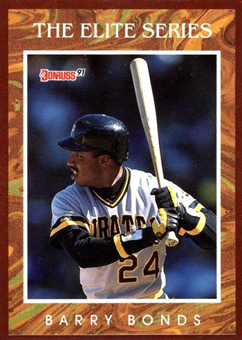 1991 Donruss Elite Barry Bonds