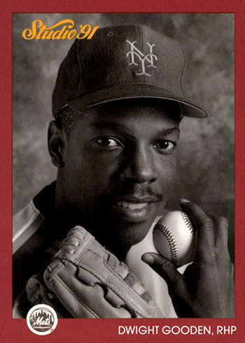 1991 Studio Previews Dwight Gooden
