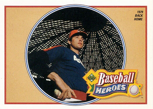 1991 Upper Deck Baseball Heroes Nolan Ryan 13