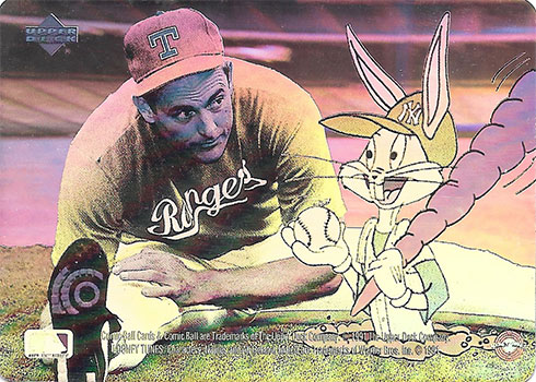 1991 Upper Deck Comic Ball 2 Holograms Nolan Ryan Bugs Bunny