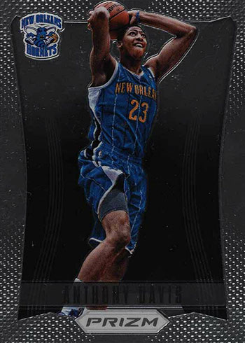 2012-13 Panini Prizm Anthony Davis Rookie Card