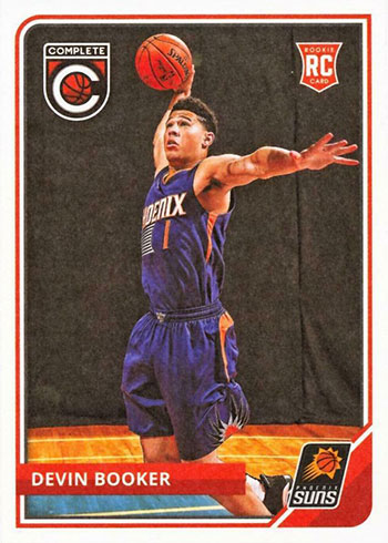 2015-16 Panini Complete Devin Booker Rookie Card